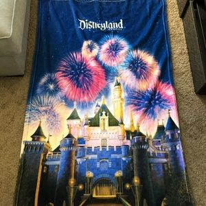Disneyland Castle blanket